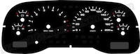 2001-2004 Dodge Dakota Gauge Face KMH