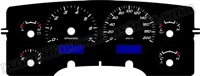 02-05 Dodge Ram Truck Gauge Face kph