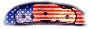 2k Cavalier Custom US Flag Gauge Face