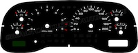 99-01 Dodge Ram Truck Gauge Face