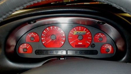 Strange Black Cat Custom Automotive Ford Mustang Gauge Faces In Kmh Wiring Digital Resources Funapmognl
