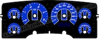 Dodge Ram Truck Custom M-Style Gauge Face